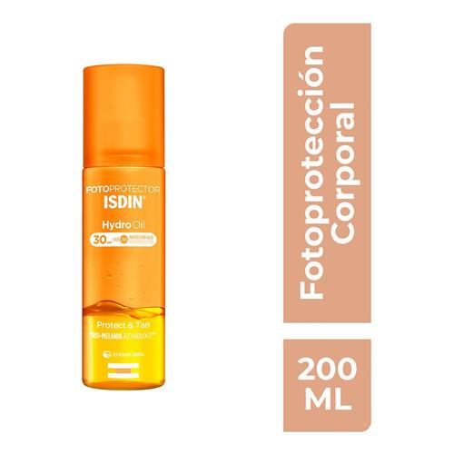 Isdin Fotoprotector Hydro Oil Fps30 Protege Y Broncea 200ml