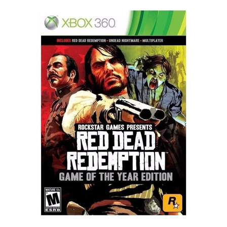 Red Dead Redemption Game of the Year Edition Rockstar Games Xbox 360 Físico