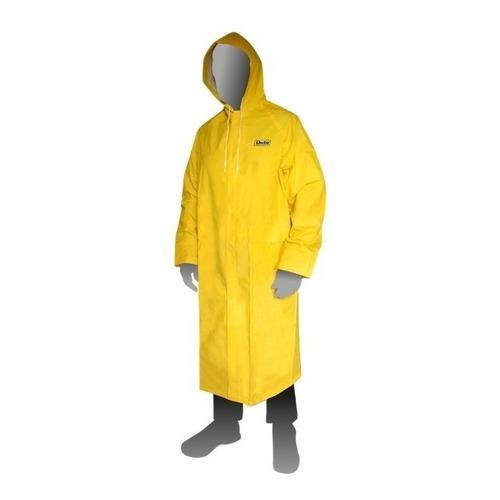Capa De Lluvia Agua Pvc Amarilla Duty - Fact A Y B - No Ombu