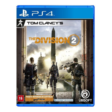 Tom Clancy's The Division 2 Standard Edition Ubisoft PS4 Físico