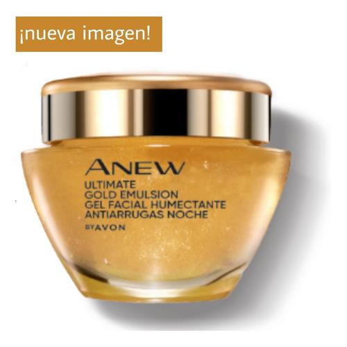 Avon Anew Ultimate Gel Humectante Nocturno Antiarrugas 45+