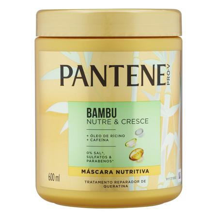 Máscara nutritiva Pantene Bambu Nutre & Cresce 600ml