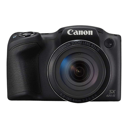 Canon PowerShot SX420 IS compacta avanzada color negro