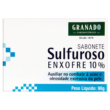 Sabão em barra Granado Sulfuroso de 90 g