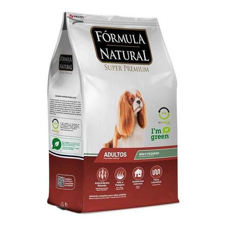 Alimento Fórmula Natural Super Premium para cachorro adulto de raça mini/pequena sabor mix em saco de 7kg