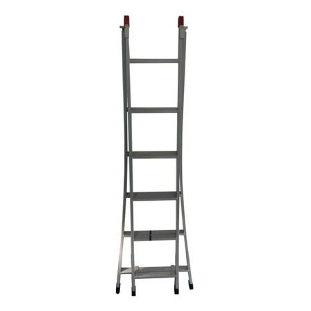 Escada multifuncional Novoletto 202P cinza