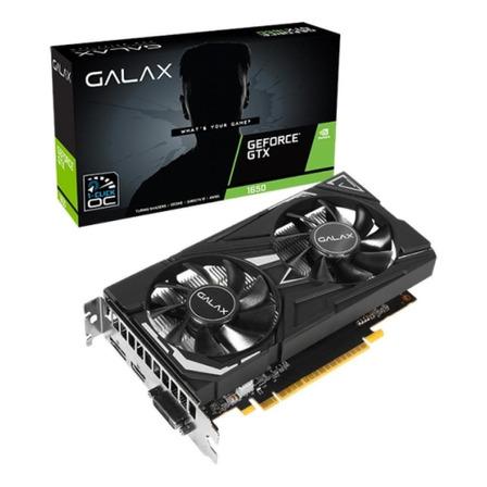 Placa de vídeo Nvidia Galax  EX GeForce GTX 16 Series GTX 1650 65SQL8DS66E6 4GB