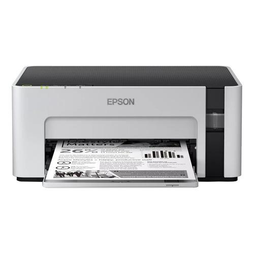 Impresora simple función Epson EcoTank M1120 con wifi blanca y negra 220V