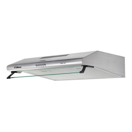 Extractor purificador cocina Liliana Purify Plus ac. inox. de pared 59.5cm x 13.5cm x 49.5cm plateado 220V - 240V