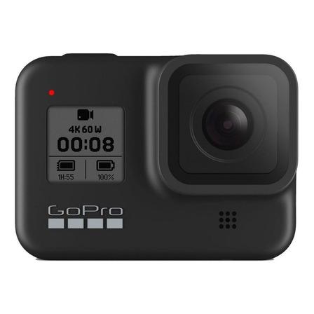 Câmera GoPro Kit de Hero8 4K CHDRB-801 NTSC/PAL black