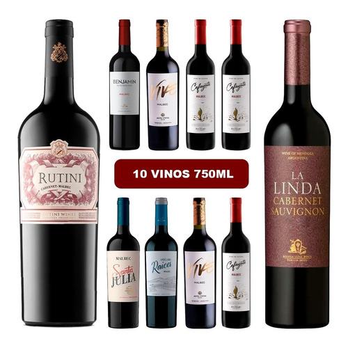Combo 10 Vinos Seleccionados Rutini La Linda