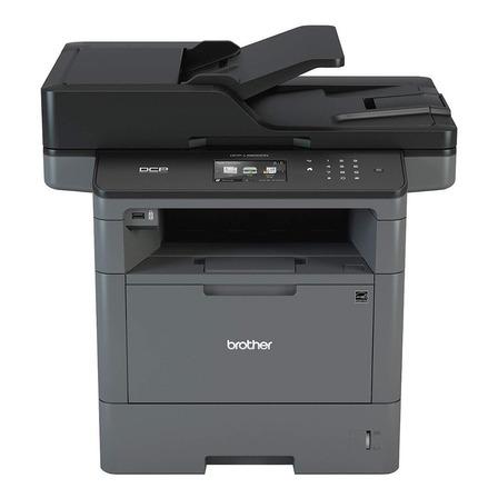 Impresora multifunción Brother  DCP-L5600DN 220V gris y negra