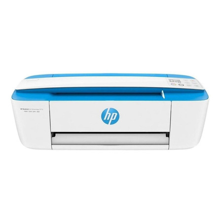 Impresora a color multifunción HP DeskJet Ink Advantage 3775 con wifi 220V azul eléctrico