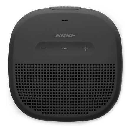 Bocina Bose SoundLink Micro portátil con bluetooth negra 100V/240V