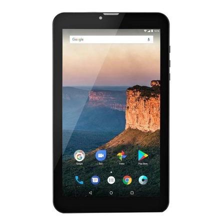 """Tablet Multilaser M9 3G 9"""" 8GB preto com memória RAM 1GB"""