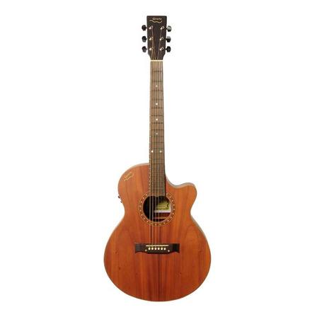 Guitarra electroacústica Gracia 345  cedro  natural derecha