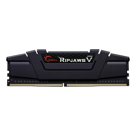 Memória RAM Ripjaws V color Preto  16GB 2 G.Skill F4-3600C16D-16GVKC