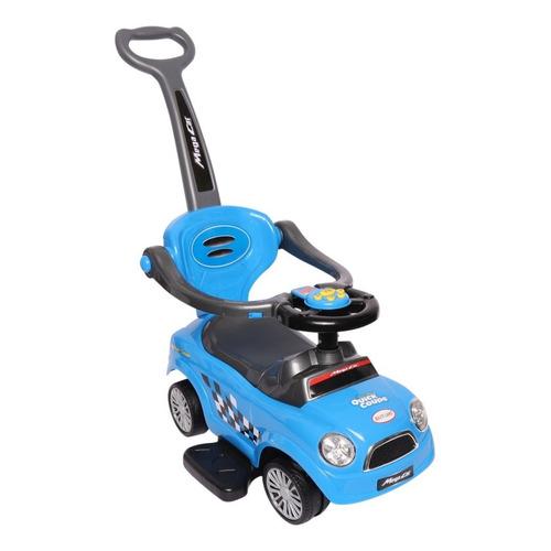 Auto Buggy Vehiculo Para Niño Bebe Con Manija Y Música