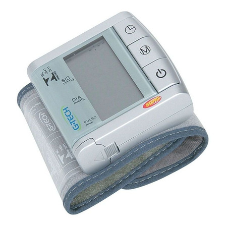 Aparelho medidor de pressão arterial digital de pulsoG-Tech BP3BK1