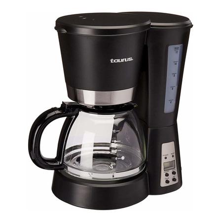 Cafetera Taurus Bequia Digital automática negra y plata de goteo 110V