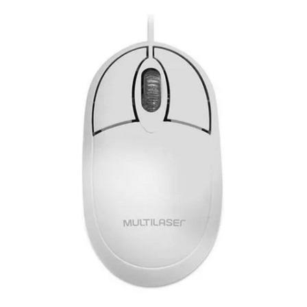 Mouse Multilaser  MO300 branco