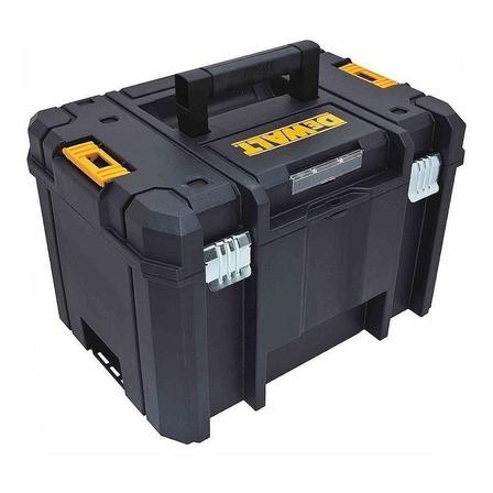 Caixa de ferramentas DeWalt DWST17806 de plástico 33cm x 43.8cm x 30.1cm preta