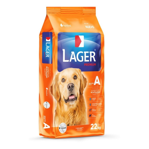 Alimento Lager Adulto Premium para perro adulto en bolsa de 22kg