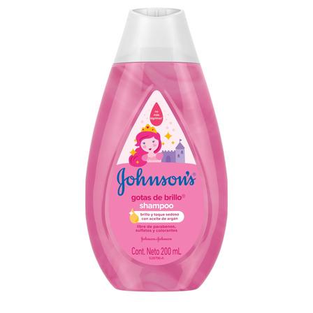 Shampoo  Johnson's Baby Gotas de Brillo 200ml