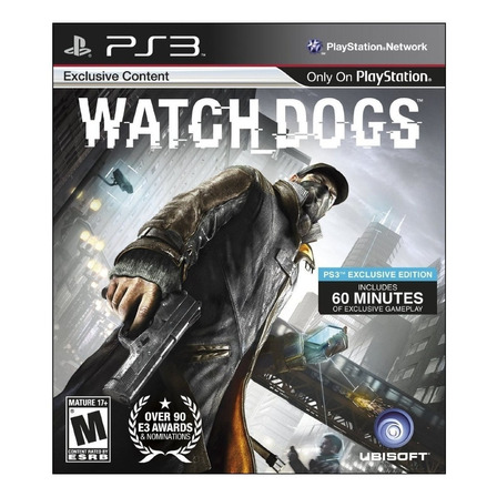 Watch Dogs  Ubisoft PS3 Digital