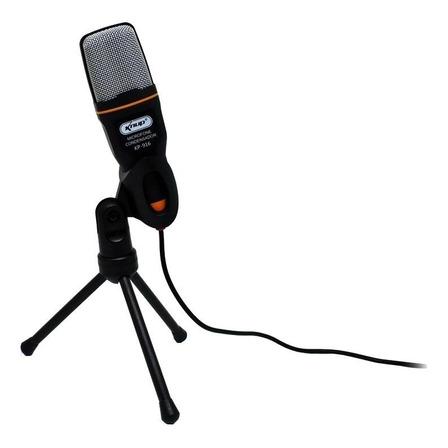 Microfone Knup KP-916 preto