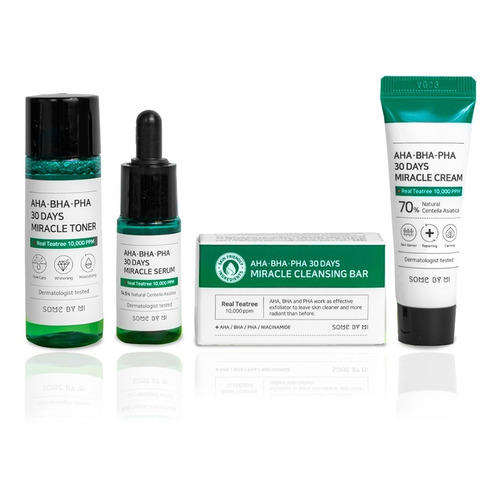 Some By Mi Miracle Starter Kit Aha,bha,pha Original Outlet