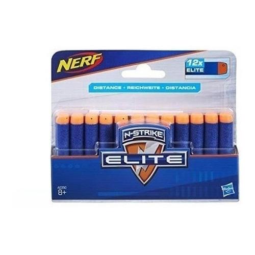 Dardos Nerf N-strike Elite X 12 - Hasbro Art.a0350