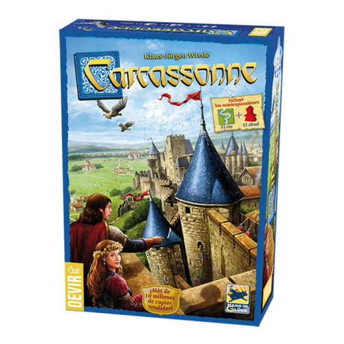 Juego de mesa Carcassonne Devir