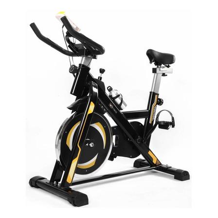 Bicicleta ergométrica WCT Fitness 10100018 para spinning preta