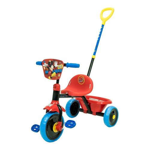 Triciclo Para Niños Disney Con Manija De Empuje Direccional