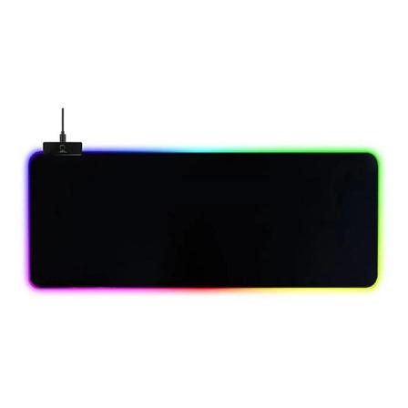 Mouse Pad gamer Exbom MP-LED3080 300mm x 800mm x 4mm preto