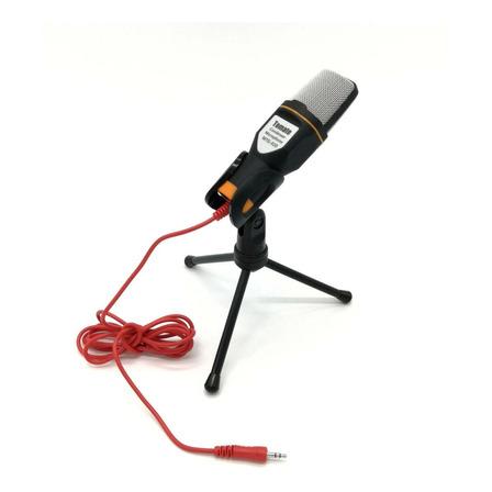 Microfone Tomate MTG-020 condensador preto