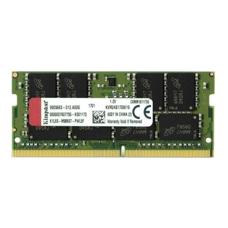 Memoria RAM 16GB 1x16GB Kingston KVR24S17D8/16 ValueRAM
