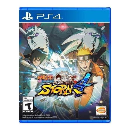 Naruto Shippuden: Ultimate Ninja Storm 4 Standard Edition Bandai Namco Entertainment PS4  Físico