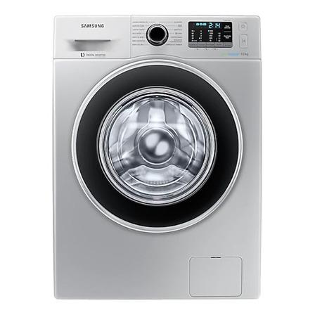 Lavarropas automático Samsung WW90J5410G inverter plata 9kg 220V