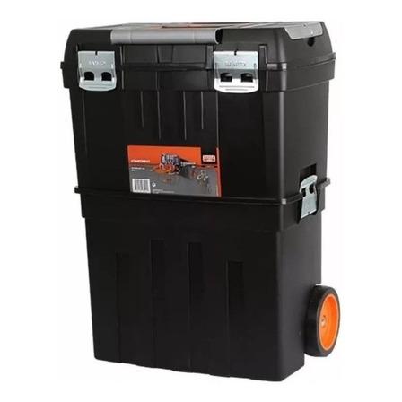 Caja de herramientas Bahco 4750PTBW47 de plástico con ruedas 290mm x 470mm x 630mm negra