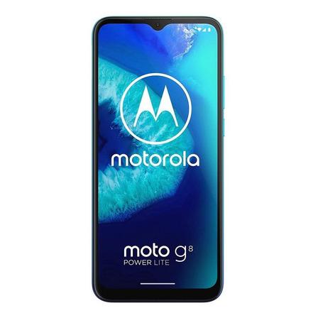 Moto G8 Power Lite Dual SIM 64 GB aqua 4 GB RAM
