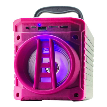 Caixa de som Grasep AL-301 portátil com bluetooth  roxa