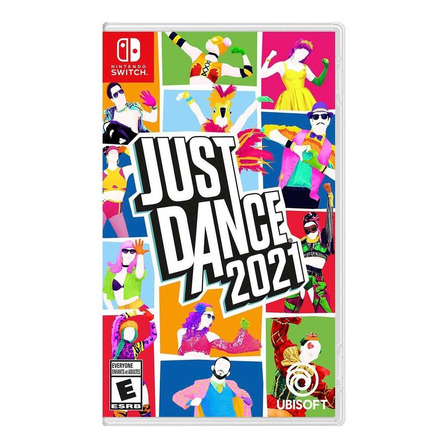 Just Dance 2021 Standard Edition Físico Nintendo Switch Ubisoft