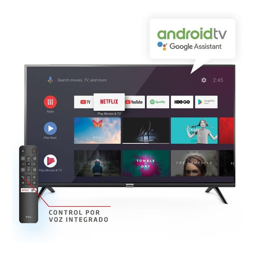 Smart Tv Tcl 42  L42s6500 Con Android Tv
