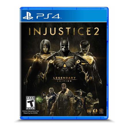 Injustice 2 Legendary Edition Warner Bros. PS4 Físico
