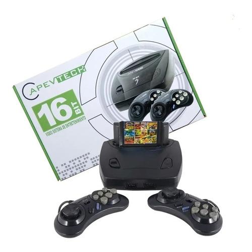 Pack Consola Apevtech 16 Bits Sega + Cartucho De 109 Juegos
