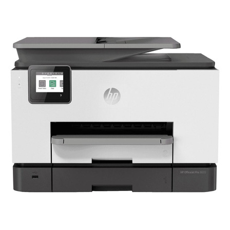 Impresora a color HP OfficeJet Pro 9020 con wifi blanca y negra 100V/240V