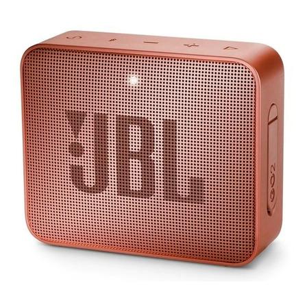 Parlante JBL Go 2 portátil con bluetooth sunkissed cinnamon