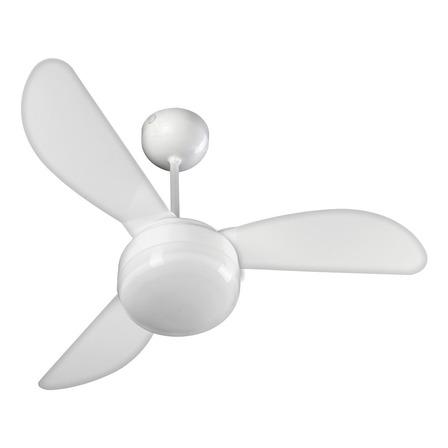 Ventilador de teto Ventisol Fênix Controle  branco com 3 pás de plástico, 960mm de diâmetro 220V
